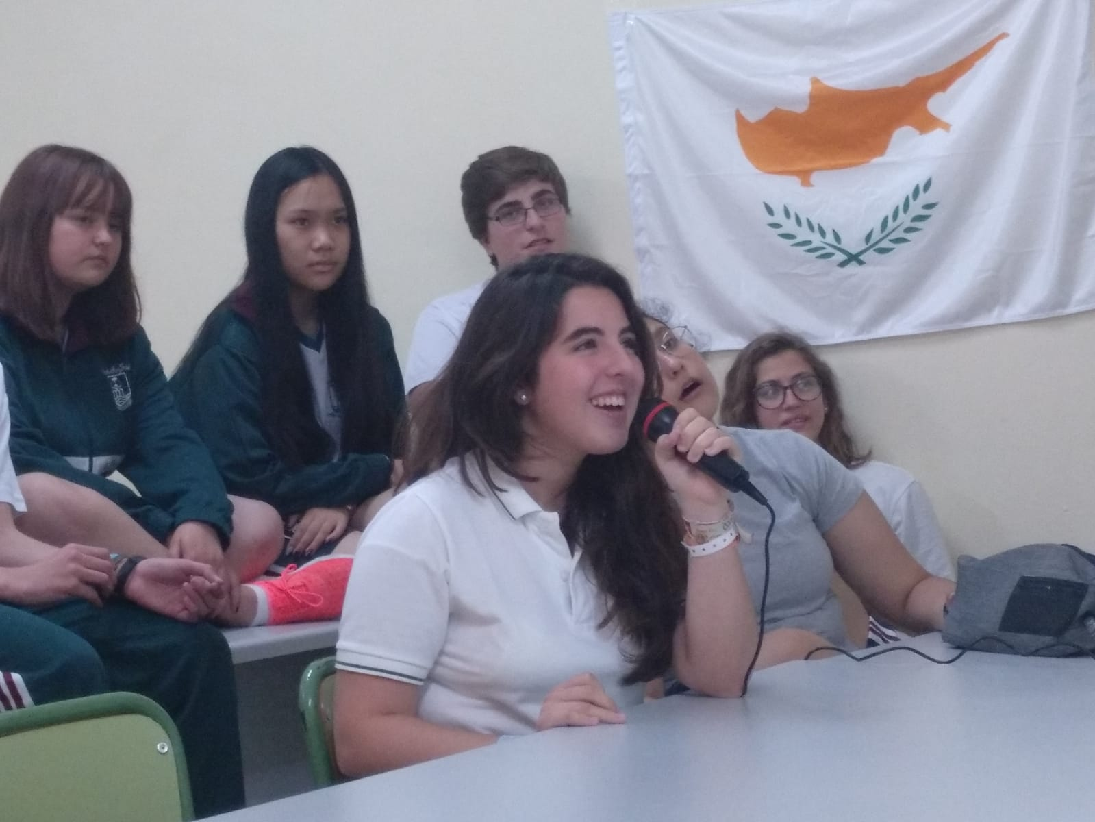 Video Conference between Cyprus and Spain, May 21st, 2019 | CASF